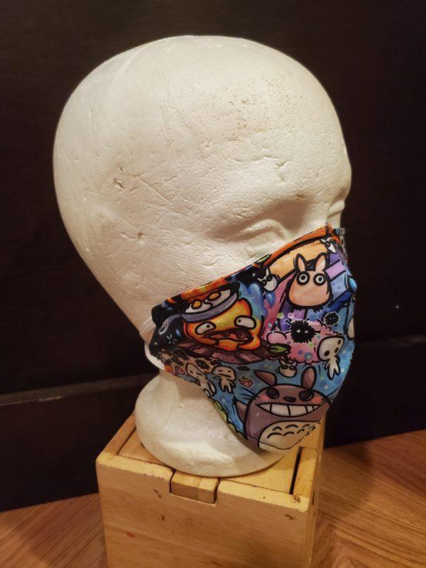 Studio Ghibli Inspired Face Mask